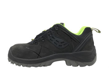 China Action Leather Lightweight Steel Toe Shoes Size Customized For Woodland supplier