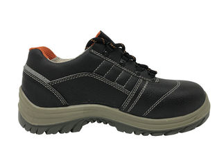 China Steel Toe Non Slip Work Shoes Anti Distort Outsize For Forklift Operator supplier