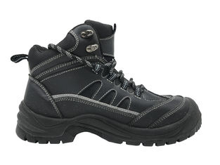 China High Density PTU Men Work Boots Penetration Resistant For Machinery Industry supplier