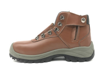 China Waterproof Industrial Work Boots 100K To 1000M Ohms Standard S1P With Button supplier