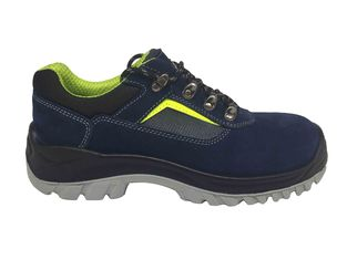 China Executive Style Rubber Safety Shoes High Breathability Synthetic Overlays supplier