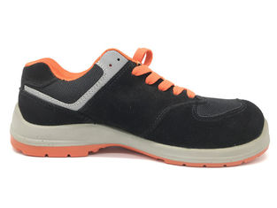 China Breathable Ladies Safety Shoes Superior Comfort Cushioned Footbed Wicking Dry Insole supplier