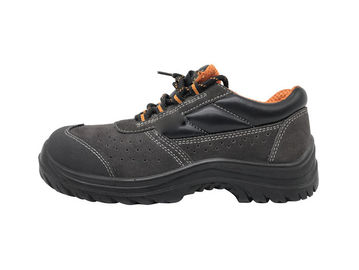 China Ordinary Steel Toe Work Shoes / Unisex Safety Shoes Injection Molded PU Unisex 39 Size supplier