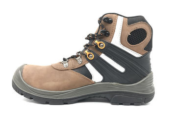 China Mass Production Leather Safety Shoes Oil Resistant For Mining CE Certificated distributor