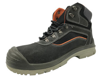 China Metal Lace Hole Caterpillar Safety Shoes , Military Style Boots For Groundwork distributor