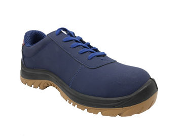 China Embroidered Insulation Formal Safety Shoes , Trainer Style Safety Shoes distributor