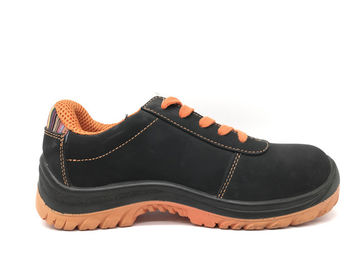 China Bright Color Nubuck Work Shoes / Lace Up Work Shoes For Spring OEM ODM Available distributor