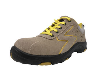 China Formal Stitching Even Rubber Safety Shoes Lightweight Abrasion Resistant distributor