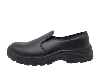 China Classic Design Casual Safety Shoes , Ladies Black Work Shoes Size Customized distributor