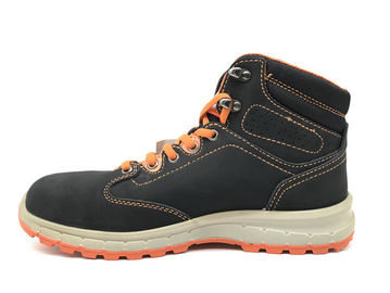 China Even Stitching Army Winter Boots / Army Steel Toe Boots With Bright Color Lace distributor
