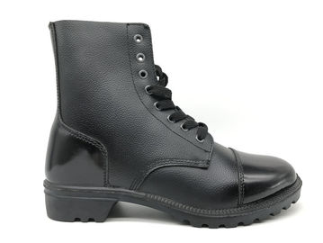 China Pointed Toe Burnished Leather Boots , Womens Steel Toe Work Boots Size Customized distributor