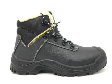 China Rust Proof Alloy Mens Steel Toe Cap Boots Fuel Resistant For Risky Work distributor