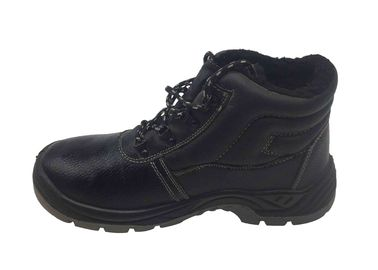 China Midsole Artificial Leather Safety Shoes / Shock Absorbing Shoes For Work distributor