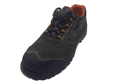 China Artificial Leather Waterproof Safety Boots With Suede Round Safety Toe distributor