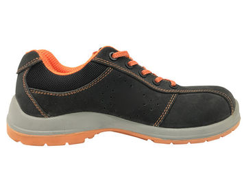 China High Class Leather Women Safety Shoes Dielectric Double Layer PU Outsole With Safe Toe distributor
