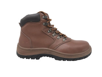 China Shockproof Industrial Work Boots SP Standard With Breathable Mesh Lining distributor