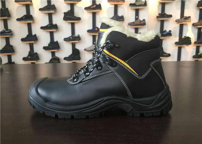 Rust Proof Alloy Mens Steel Toe Cap Boots Fuel Resistant For Risky Work