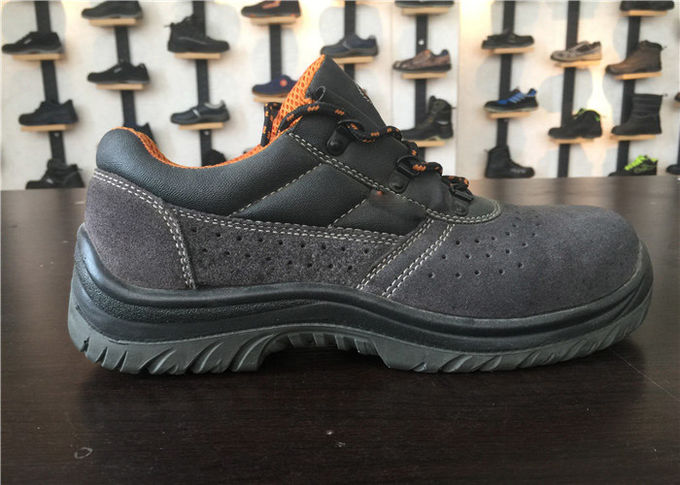 High Bursting Strength Sport Safety Shoes Torsion Resistant With Butt Leather